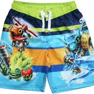 Boys Skylanders Swim Trunks Shorts Size M 8